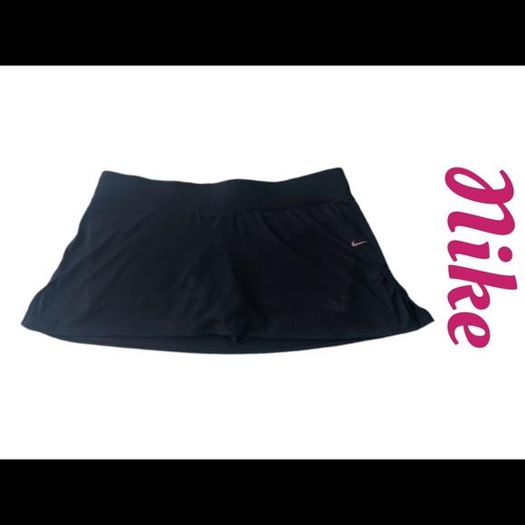Nike Dri-Fit Golf/Tennis Black Skort Sz XL